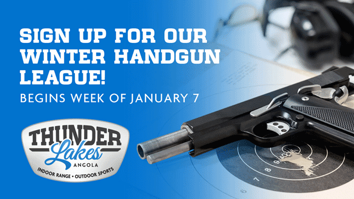 SIGN UP FOR OUR HANDGUN LEAGUE