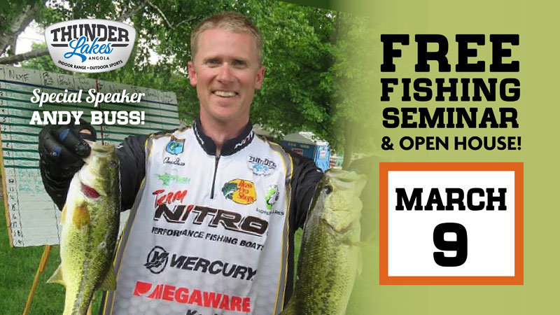 Fishing Seminar and Open House